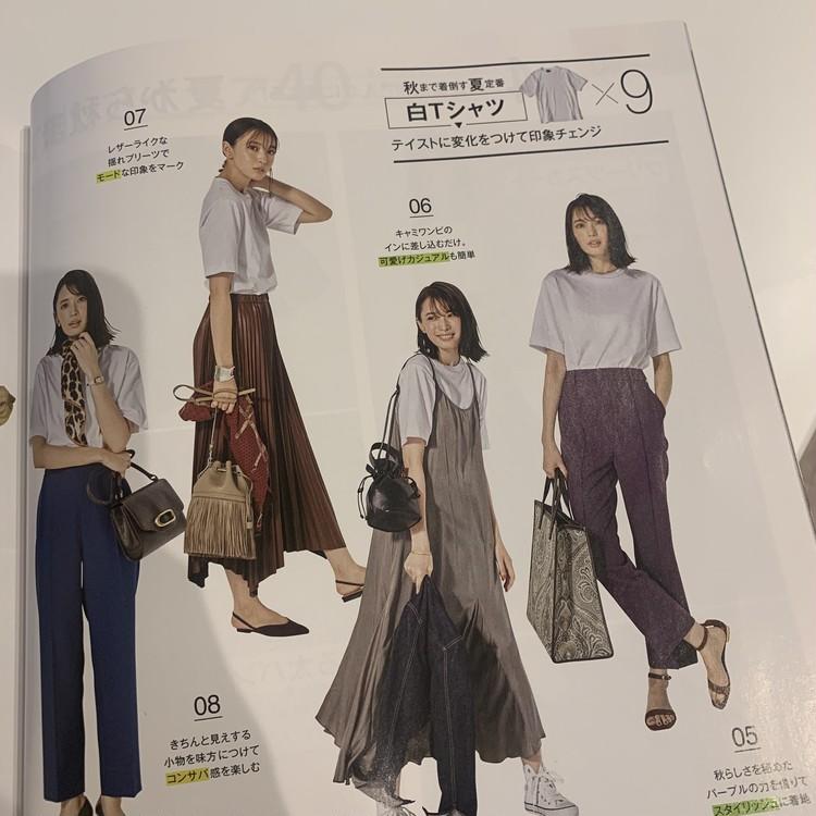 UNIQLO Tシャツで大人フェミニンスタイル♡_3