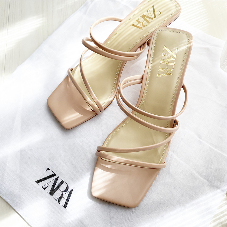 【ZARA購入品】春に向けてピンクサンダルを新調_1