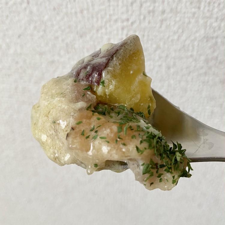 にんにく&チーズパワーで元気になれる⤴️「松屋」超バズ人気鍋メニュー【シュクメルリ】を公式レシピで作ってみた!_20