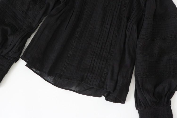 ZARAブラウス裾