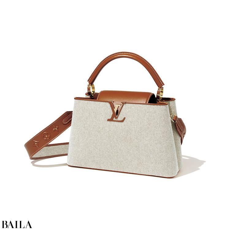【LOUIS VUITTON】  「フラップの出し入れで表情が変わる、二面性が楽しい新作バッグ」(スタイリストI)