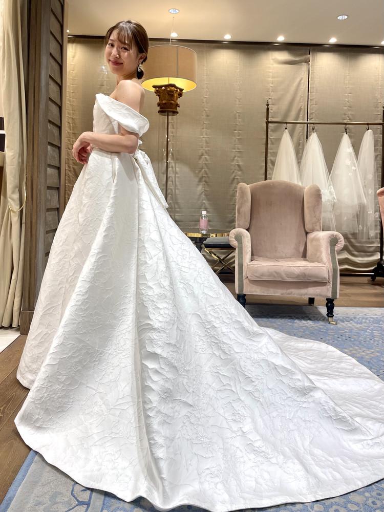 準備再開【パレス花嫁】2021SS新作ドレスを試着しました♡_7
