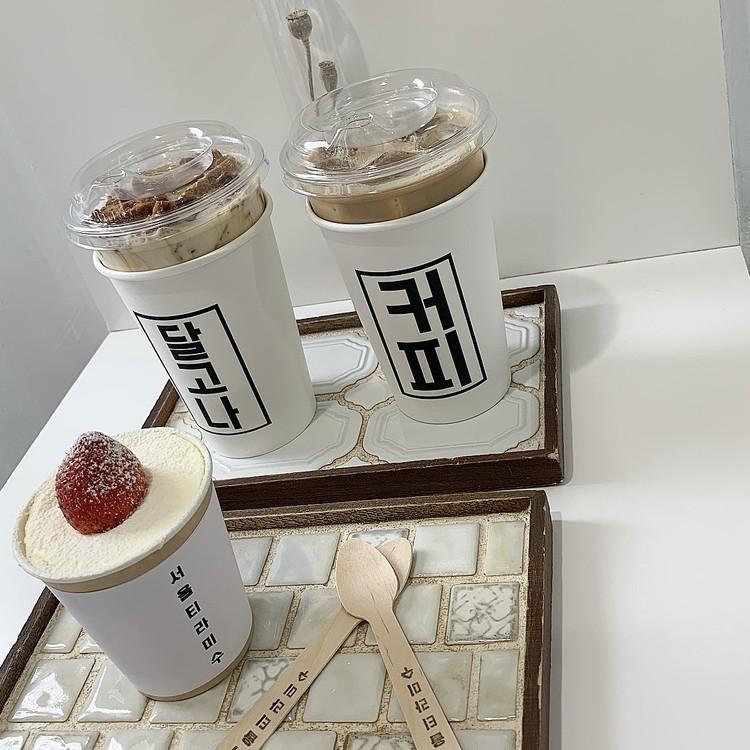 \新大久保グルメ/THE韓国っぽ카페(カフェ)_2
