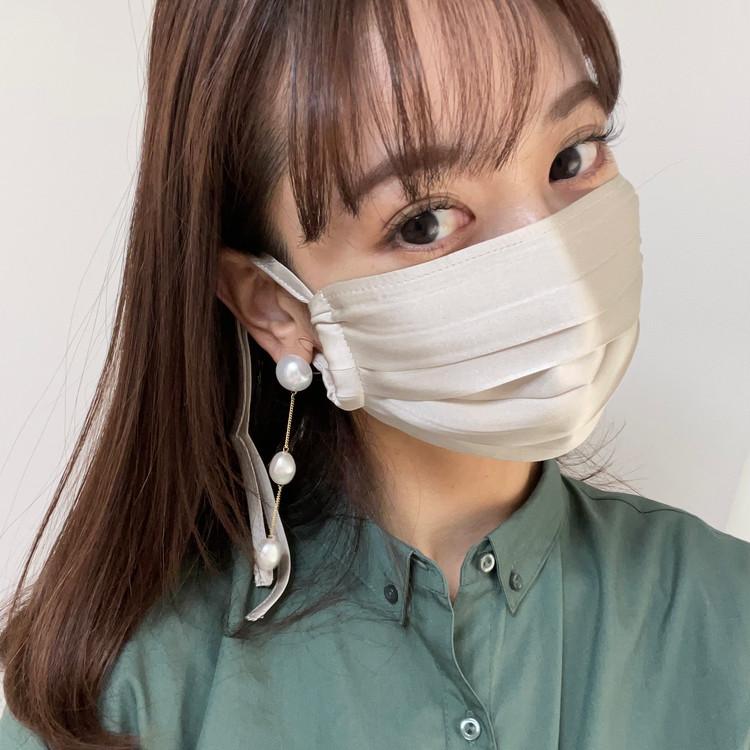 ルームウェアブランドから登場〝シルク100%の優秀マスク♡〟_6