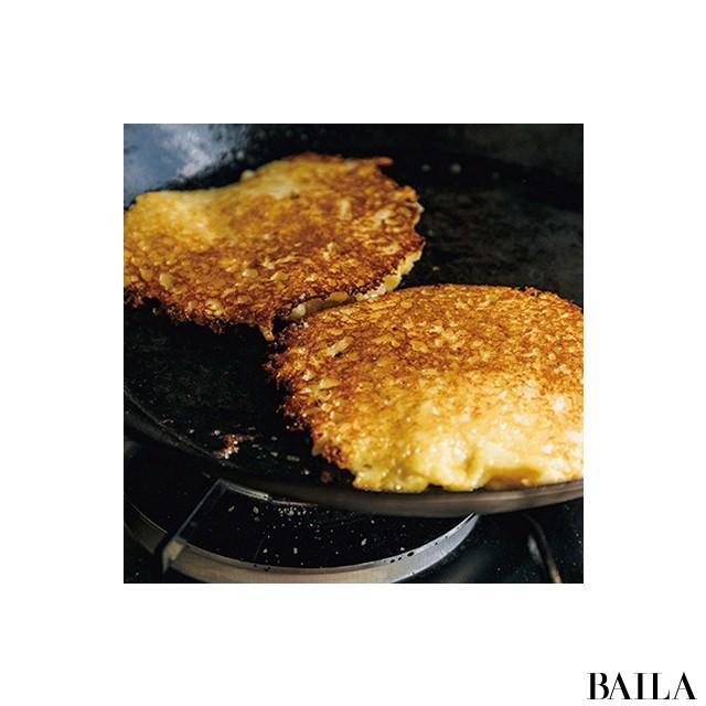 ポテトパンケーキで休日のブランチ【カトパンの週末ふるまいごはん】_3_5