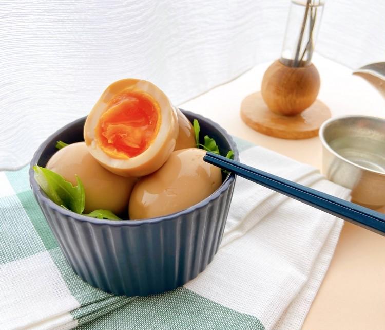 おうち時間に簡単おつまみレシピ! 短時間で美味しい味玉でおうち居酒屋