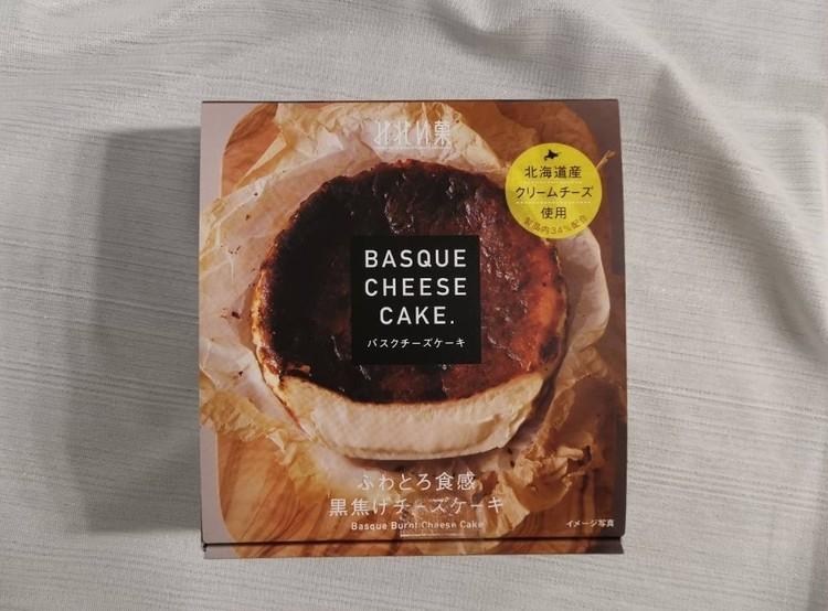 7.【みれい菓】バスクチーズケーキ(¥1250)外箱