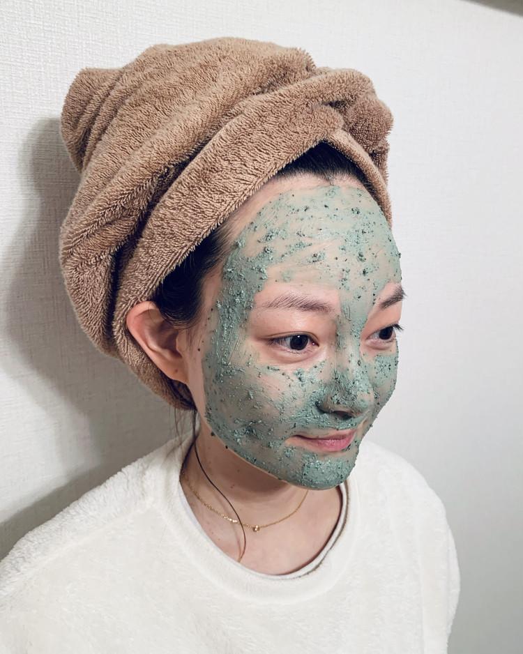 【スキンケア】ミントと小豆入り「パワーマスク」_4