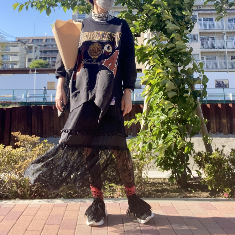 ジーユー(GU) 2021春 買ってよかった おすすめ コラボスカート アンダーカバー UNDERCOVER セール 30代レディースコーデ