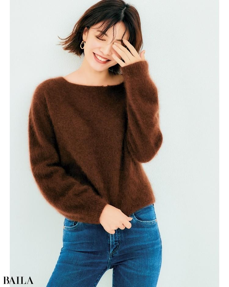 【ゆったりニットまとめ】着やすいミドルゲージニットで、冬おしゃれを楽しもう!_15