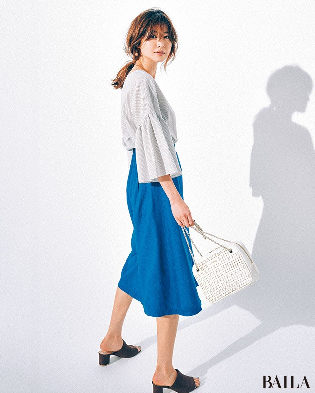 「涼しくて華やか」な【フェリース ルネス】の可愛げスカートが使える!_3_1