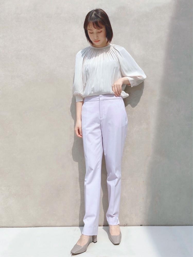 ZARAで3,990円♡春のきれい色な甘辛カラーパンツ_2