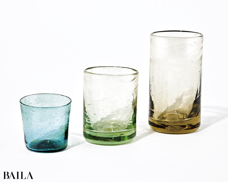 ラ・スフルリーのグラス