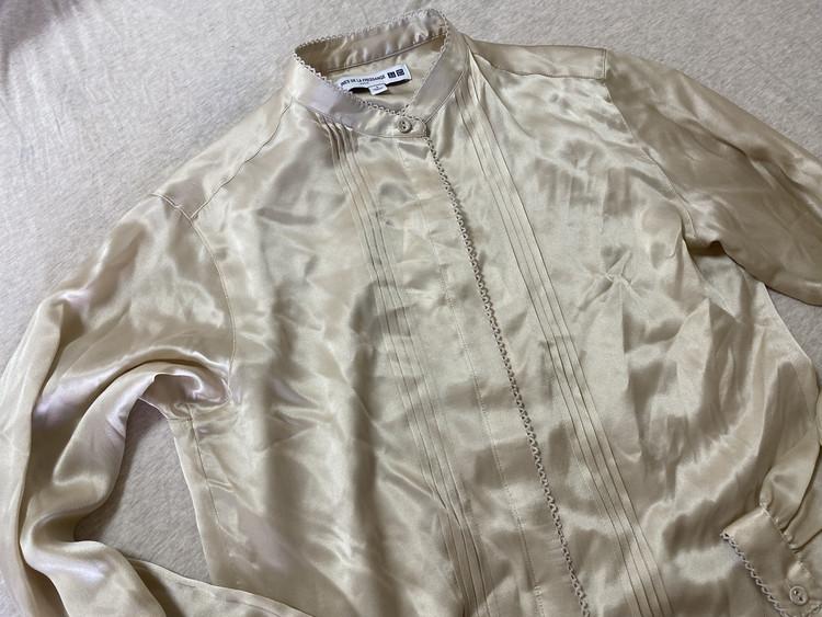 【UNIQLO】100%シルクシャツが7000円で買える⁉_1