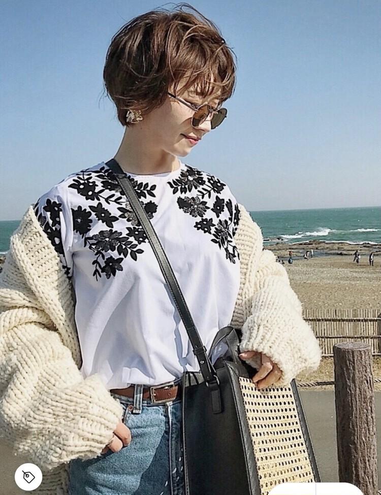【コーデ画像】重い冬コートからチェンジ!春色あったかカーディガンを着よう♡_1