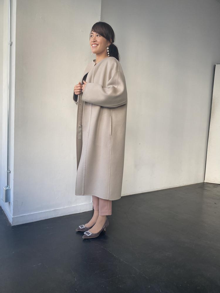 憧れコートと美脚パンツ_2
