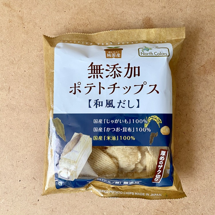 無添加ポテトチップス 和風だし(税抜¥147)