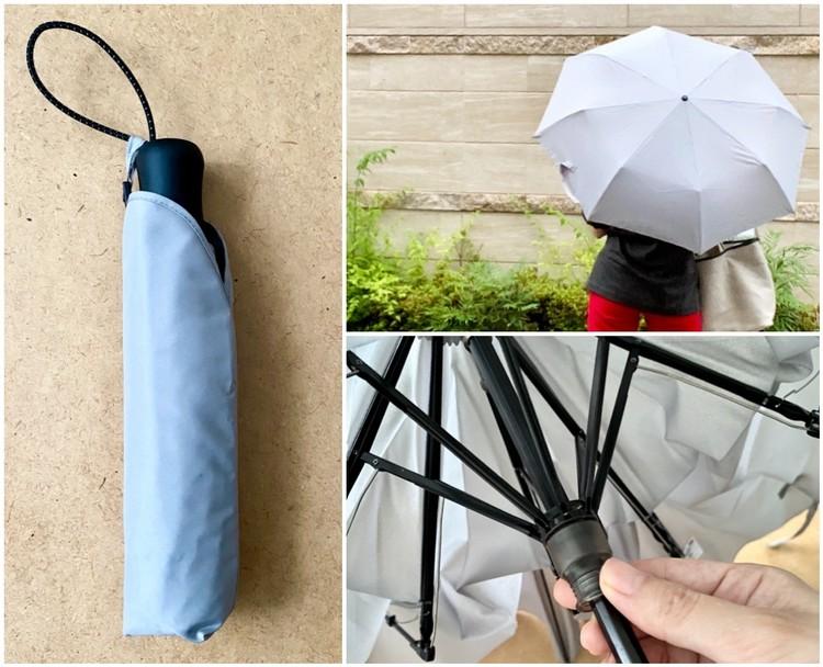 ¥1500プチプラ隠れ名品【ユニクロ(UNIQLO)】軽量&丈夫な折りたたみ傘「コンパクトアンブレラ」が大人気の理由_1