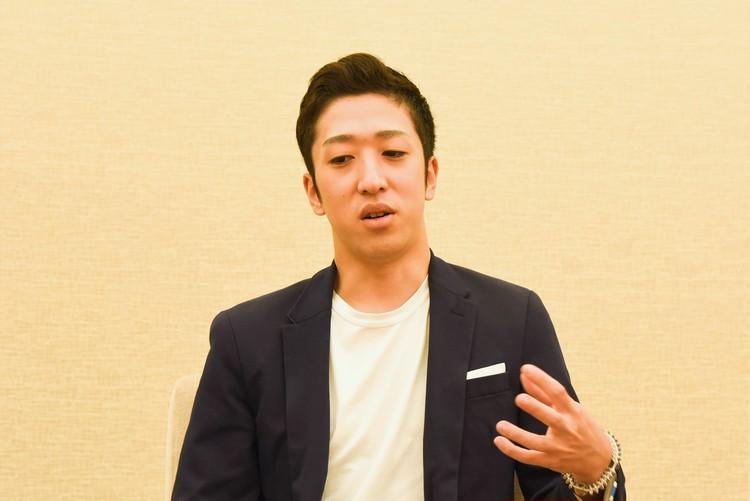 中村梅枝さんのインタビュー写真