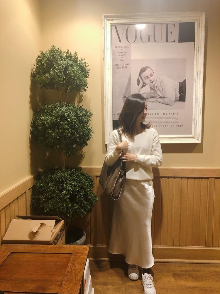 """最近のお気に入り""""デカ""""bagと白スニーカー。♡_5"""