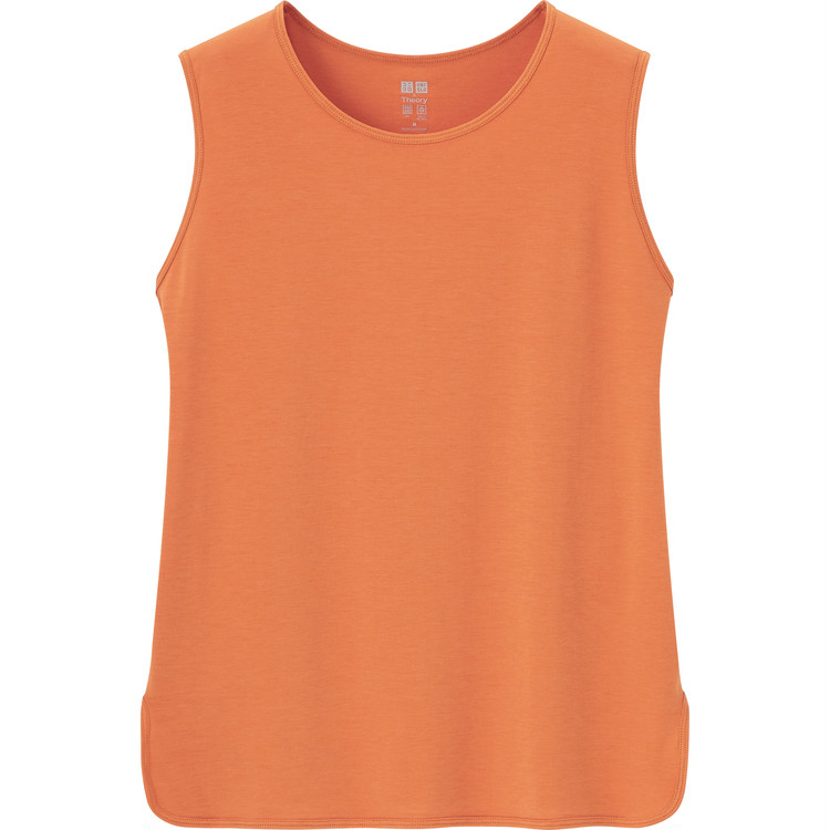 エアリズムクルーネックTシャツ(ノースリーブ) ¥1500
