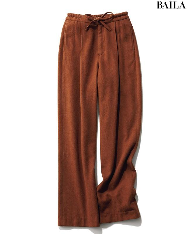 黒パンツをブラウンに変えるだけでこんなに素敵!な3本&3コーデ_1_4
