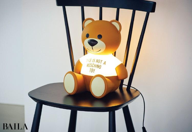 カルテル×モスキーノのランプ「TOY」