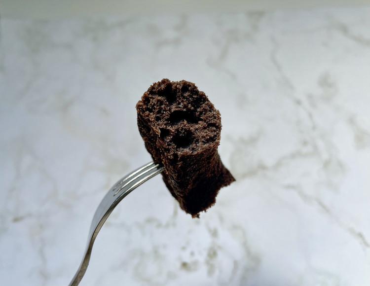 糖質10g以下のお菓子 チョコドーナツ(断面図)