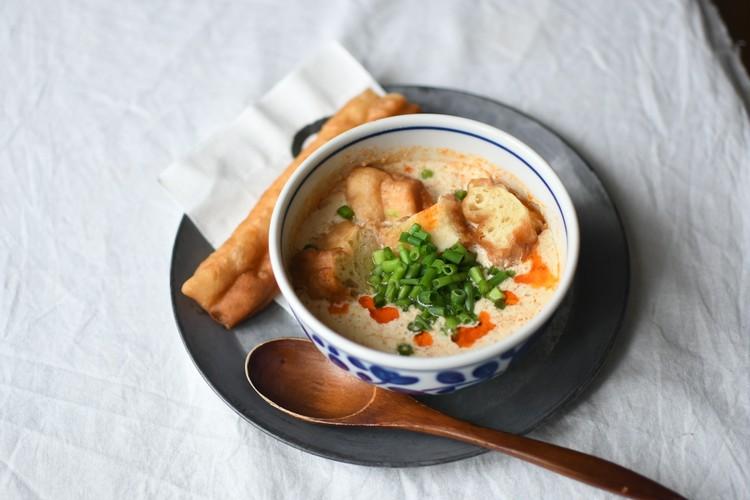 カルディで販売されている台湾の朝食「鹹豆漿(シェントウジャン)」の素