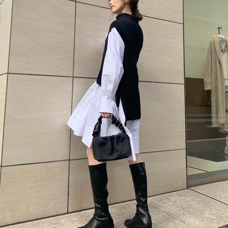 【春の購入品】着映えシャツワンピ_2