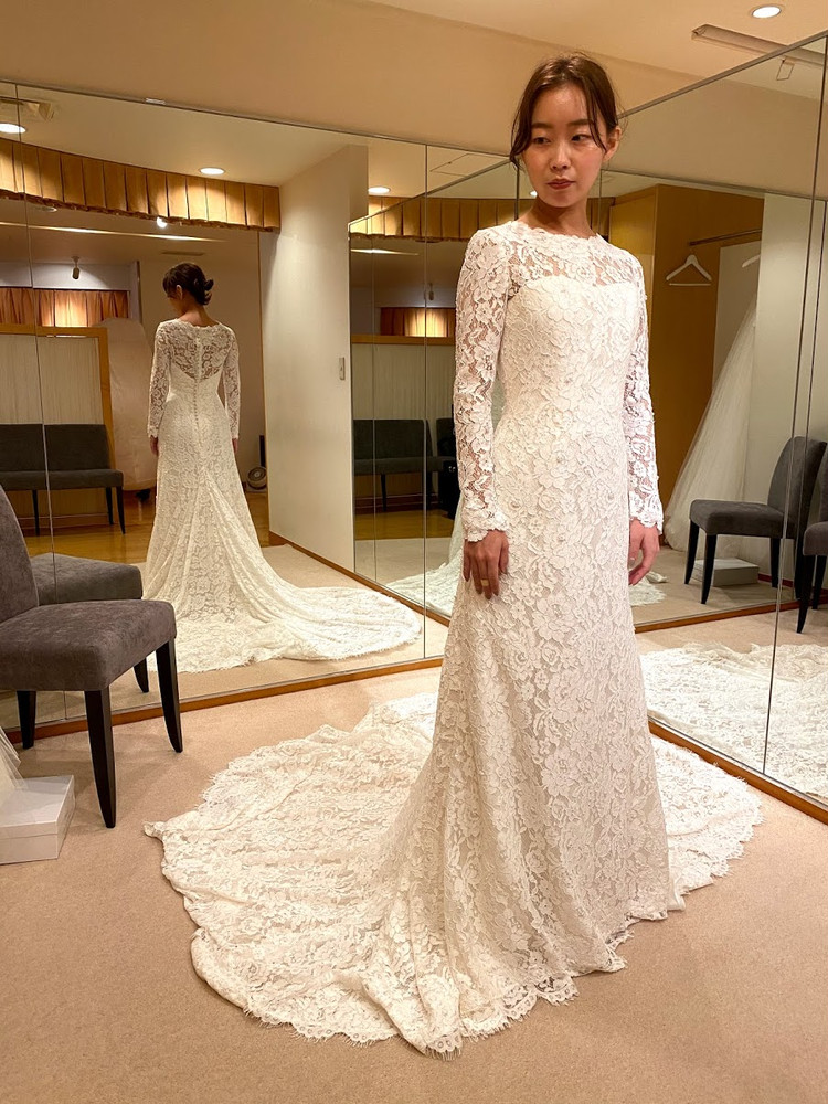 【Wedding】ドレス試着すべて見せます♡/後半①_3_1