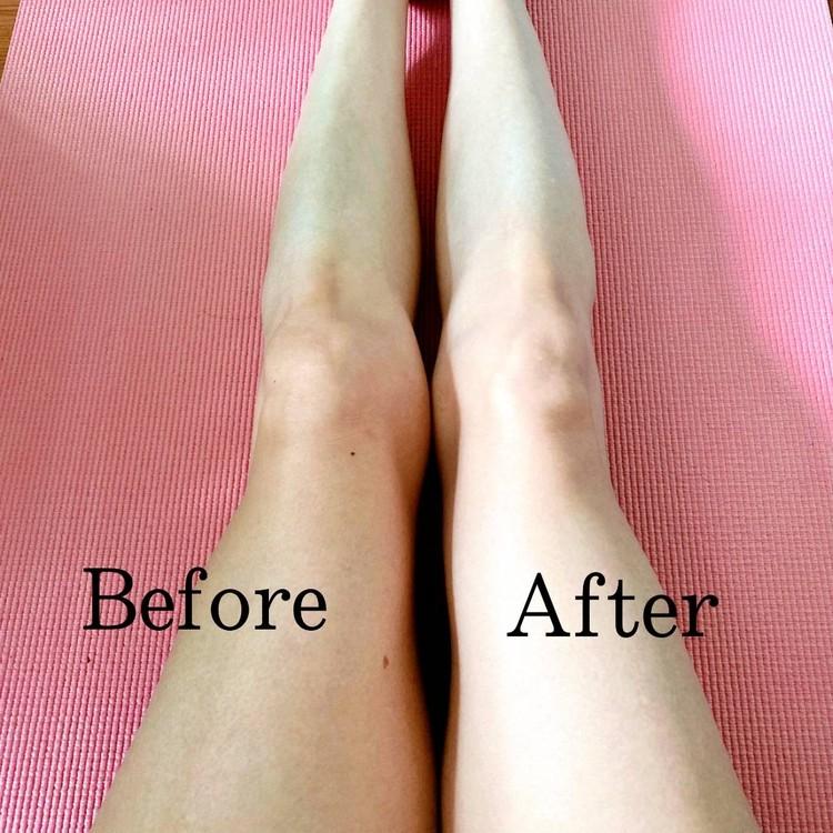 足のトーンさえも見違えるメイクブラシ法