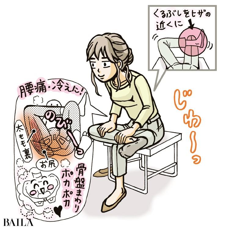 ずぼらヨガ:菩薩のポーズ