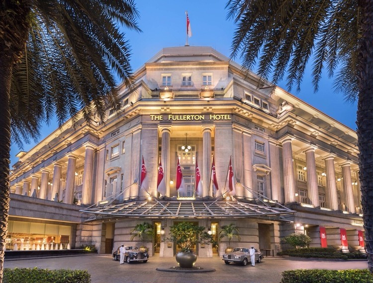 優雅なザ・フラトンホテル シンガポールのアフタヌーンティー_2
