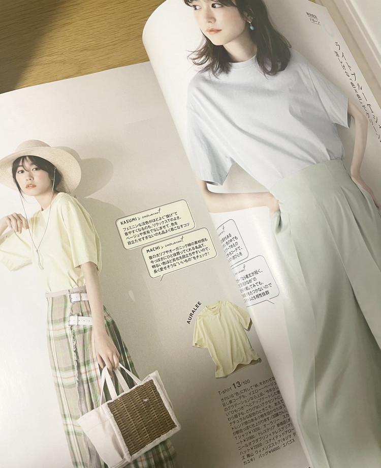 【BAILA7月号】女っぽく着る黒Tコーデ_3
