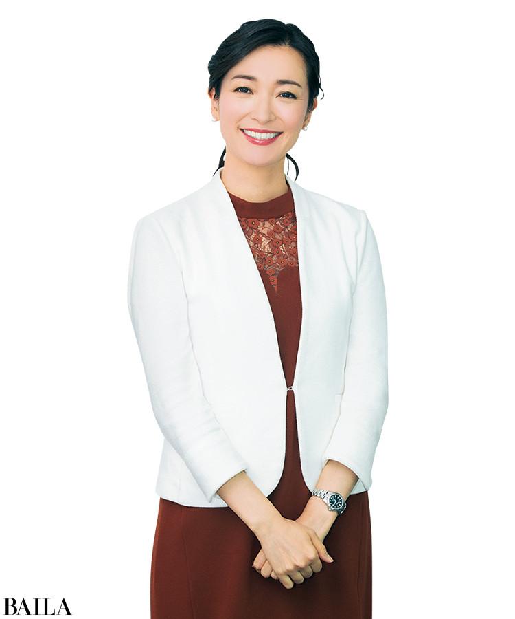 大江麻理子キャスター