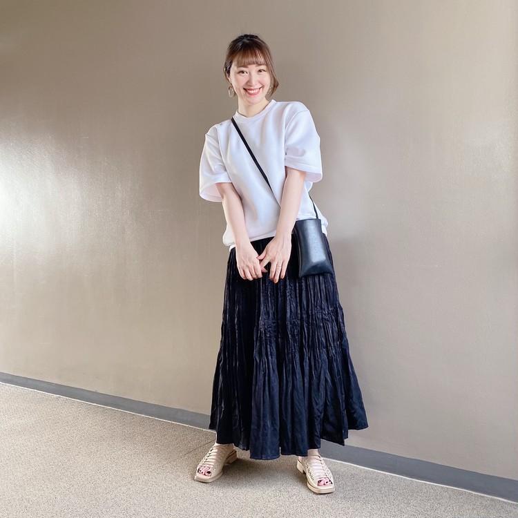 【ユニクロ秋冬】秋口まで使える◎新作プリーツスカートを着回し!_4