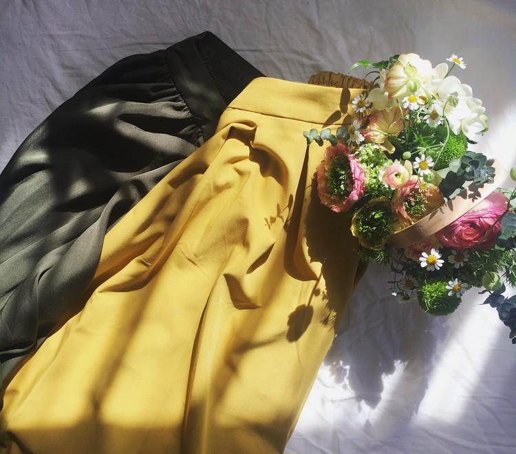 しまむら購入品。春のフレアスカート。_1