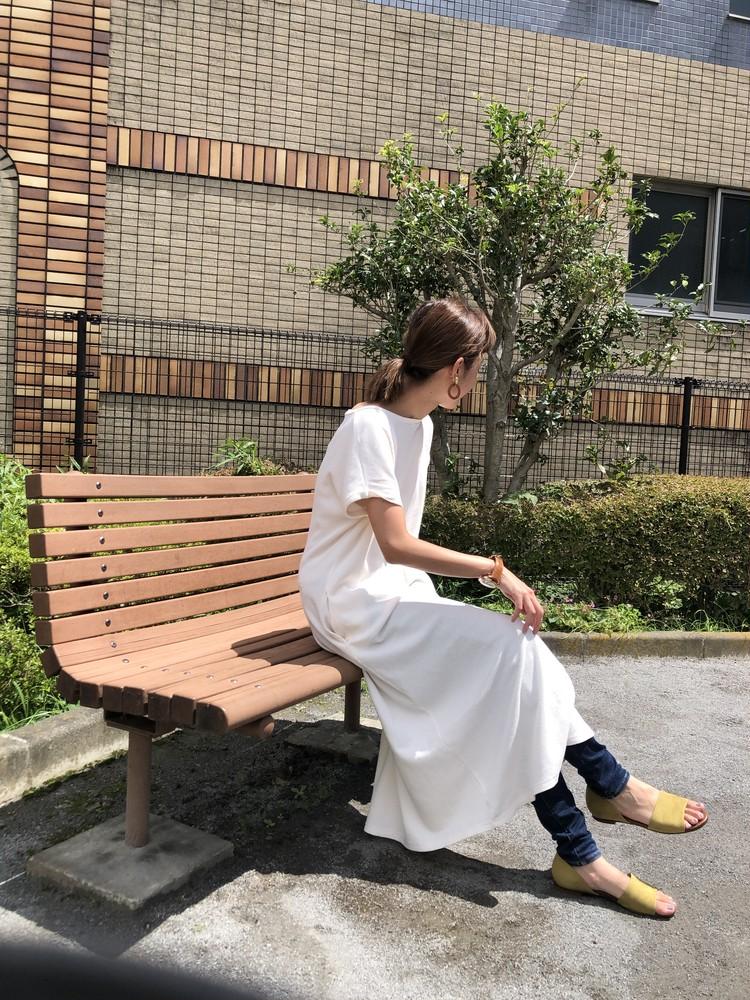 夏の涼しげワンピースコーデ_1