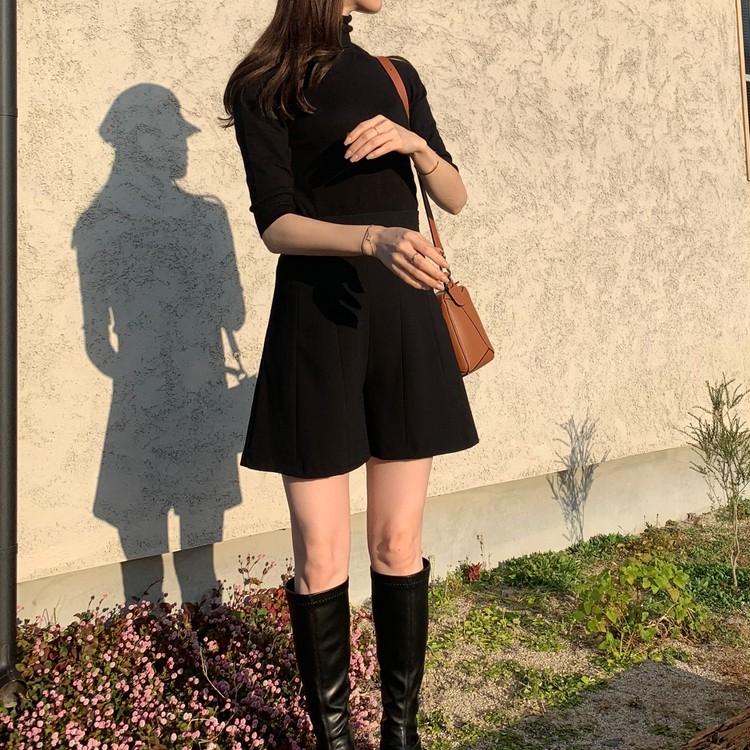 【ZARA】ベーシックなハイネックセーターを2色買い_6