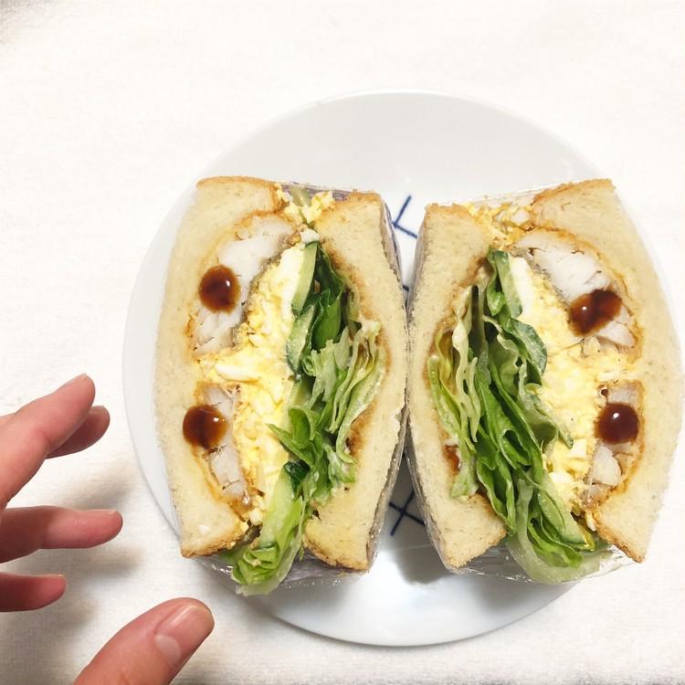 #おうち時間  実は簡単‼︎萌え断サンドで朝ごパン_3