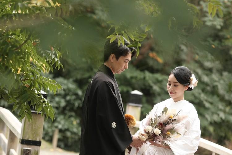 【wedding】和装前撮りレポ〜都内ロケーションフォト〜_1