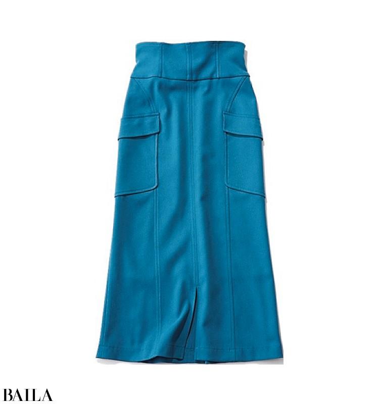 1129(イイニク)の日は、たっぷり食べてもOKな後ろゴムタイトスカートスタイルで焼肉へ♪【2019/11/29のコーデ】_2_3