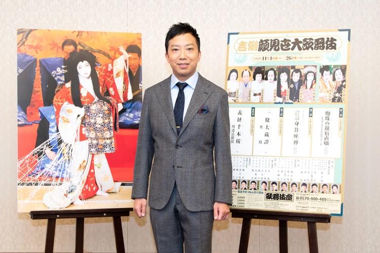 市川猿之さんの吉例顔見世大歌舞伎の記者会見