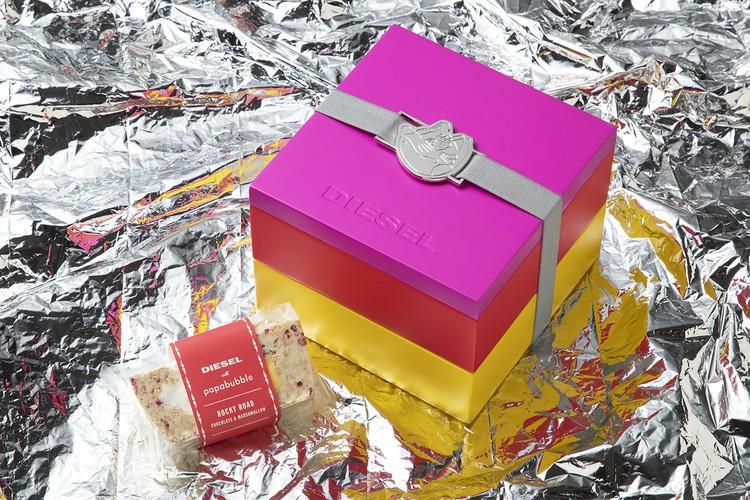 【ディーゼル(DIESEL)×パパブブレ(PAPABUBBLE)】初コラボのバレンタインギフト、限定スペシャルパッケージ