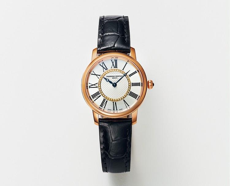 """【デイリー時計の相棒に""""丸型フェイス""""が新登場!】新しい日常に寄り添う、フレデリック・コンスタントの上質時計_2"""