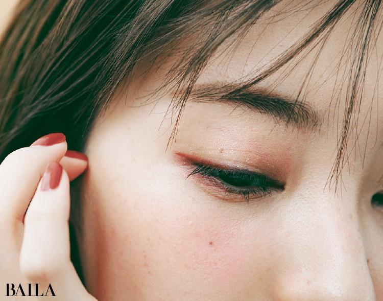 眉は感情を伝えるパーツだから、やわらかく