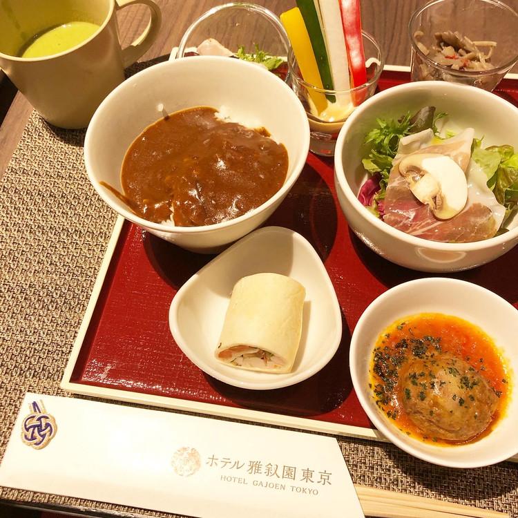 お土産付き♡ホテル雅叙園東京でランチビュッフェ♡_3
