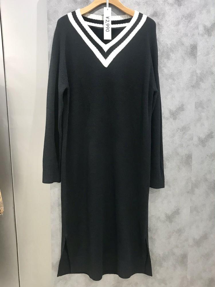 チルデンニットワンピース¥2990/ジーユー(GU)