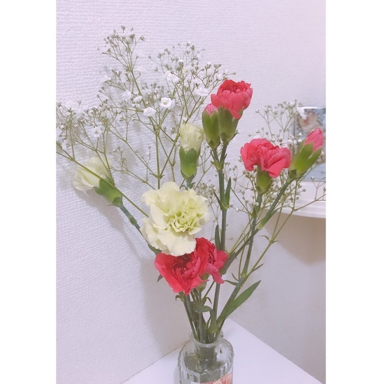 花のあるインテリア